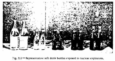 Cómo afecta una explosión nuclear a las bebidas