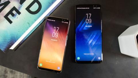 Galaxy S8 resistente al agua