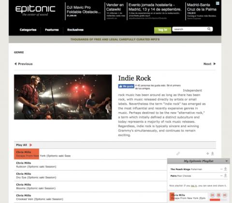pagina para descargar musica gratis sin registrarse