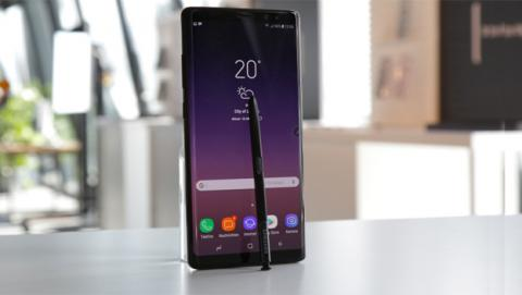 Unboxing del Samsung Galaxy Note 8 en vídeo