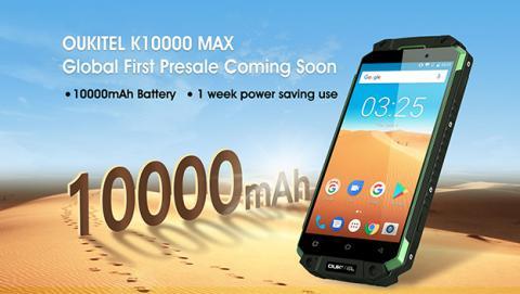 Oukitel K10000 Max, batería inagotable tras un uso intenso