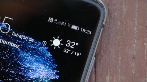 La pantalla del Huawei P10 Lite no decepciona