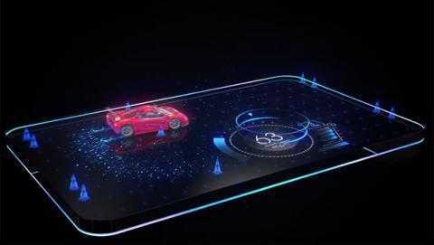 movil pantalla holografica