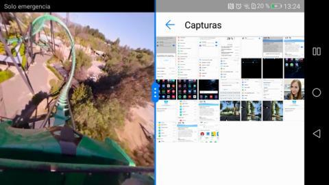 De esto es capaz el rendimiento del Huawei P10 Lite: un vídeo en 360º grados a pantalla partida
