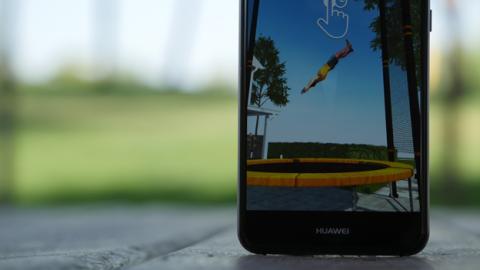 El juego de Flip Master en el Huawei P10 Lite