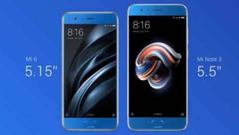Presentado el Xiaomi Mi Note 3: precio y especificaciones oficiales.