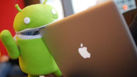 Android va por delante de Apple, según Qualcomm