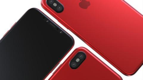 Filtran el iPhone 8 Red Edition.