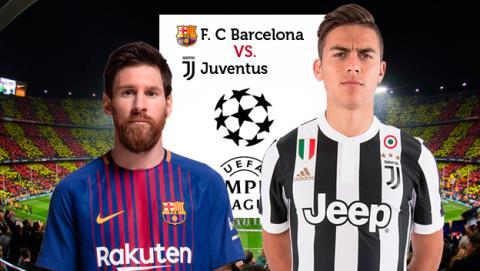 Cómo y dónde ver en directo el Barça vs Juve de la Champions.