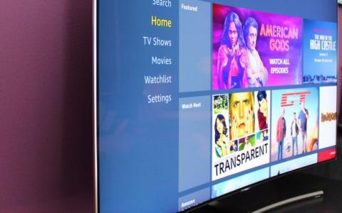 televisor curvo QLED Samsung