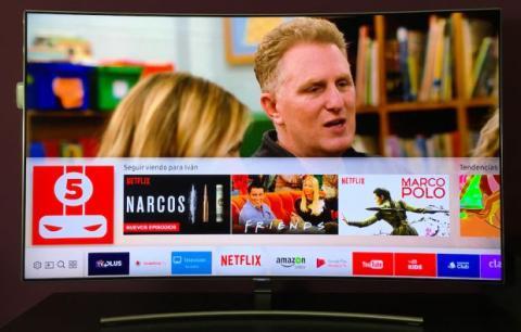 Netflix televisor inteligente QLED de Samsung