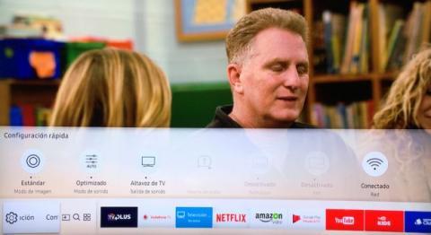 televisor inteligente QLED de Samsung