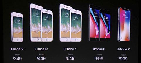Precios nuevos iPhone