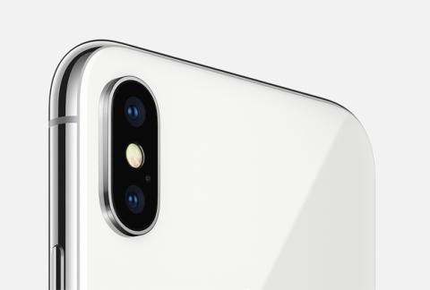 La cámara dual del iPhone X