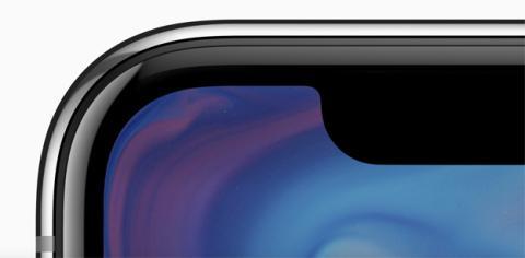 La pantalla de esquina a esquina del nuevo iPhone X