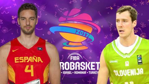 Cómo ver en directo online gratis el España - Eslovenia de baloncesto.