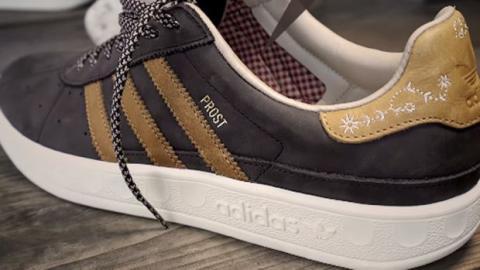 Nuevo modelo de zapatillas Adidas para el Oktoberfest repelente de vómitos y cerveza