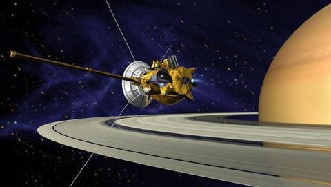 Cómo y cuándo ver en directo el final de Cassini en Saturno
