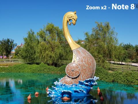 Fotografía con el zoom x2
