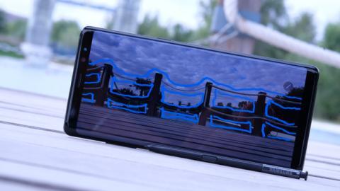 Empecemos el análisis del Samsung Galaxy Note 8 hablando del diseño