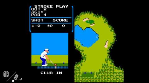 golf de nes en switch