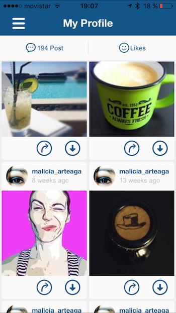 Bajar vídeos de Instagram