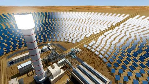 planta solar Dubai