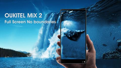 Oukitel Mix 2 y C8, dos nuevos móviles con pantalla infinita