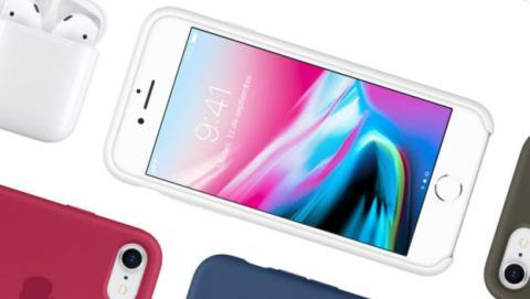 Las ventas del iPhone 8, menores de lo esperado.