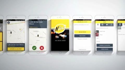 NTaxi, la primera aplicación para compartir taxi de España.