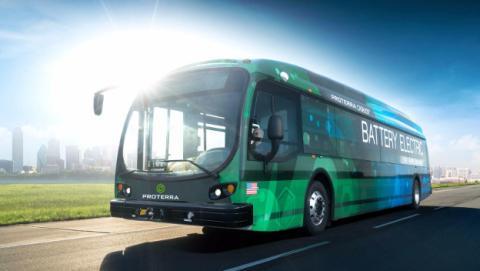 Un autobús bate el récord de autonomía de vehículos eléctricos.