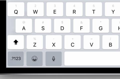Doble teclado para iPad iOS 11