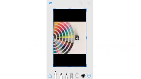 Editar captura pantalla Magician iOS 11