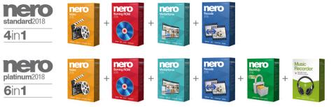 Versiones Nero 2018