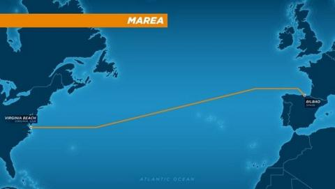 cable submarino marea