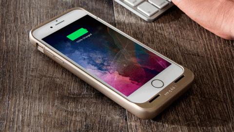 iPhone 7 carga inalámbrica