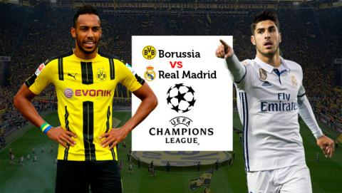 Cómo ver en directo online el Borussia - Madrid de Champions