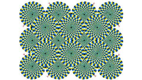 serpientes ilusion optica