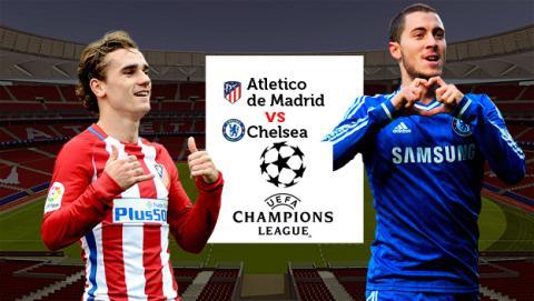 Webs para ver en directo por Internet el Atleti vs Chelsea de Champions.