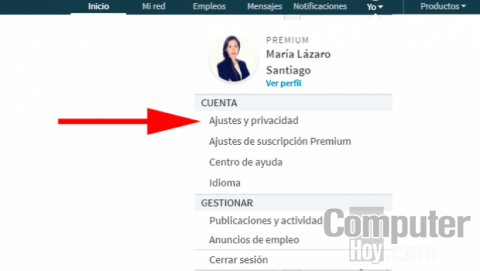 Ver perfil LinkedIn de manera anónima