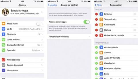 Grabación pantalla iOS 11