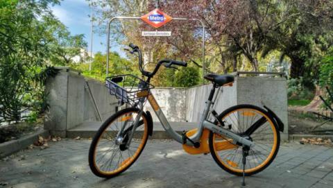 Así funciona Obike, la aplicación para alquilar bicicletas en Madrid.