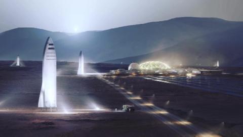 Los planes de Elon Musk para colonizar Marte con SpaceX