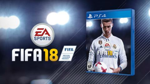 Oferta para comprar PS4 con FIFA 18 de regalo.