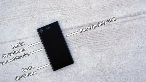 Distribución de los botones físicos de este Sony Xperia