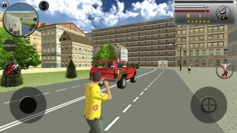 El juego Real Gangster Crime en el Sony Xperia XZ1