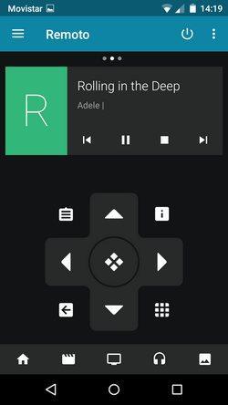 Cómo usar el móvil como mando a distancia con Kodi