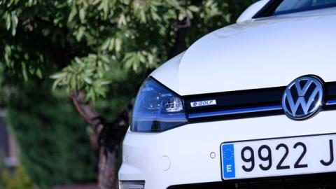 El e-Golf es eso, un Golf eléctrico: por fuera, nadie diría que es un coche sin motor de combustión