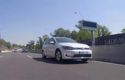 El consumo medio del Volkswagen e-Golf aumenta en cuanto salimos a carretera