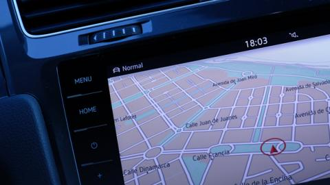 El navegador Discover Pro de Volkswagen
